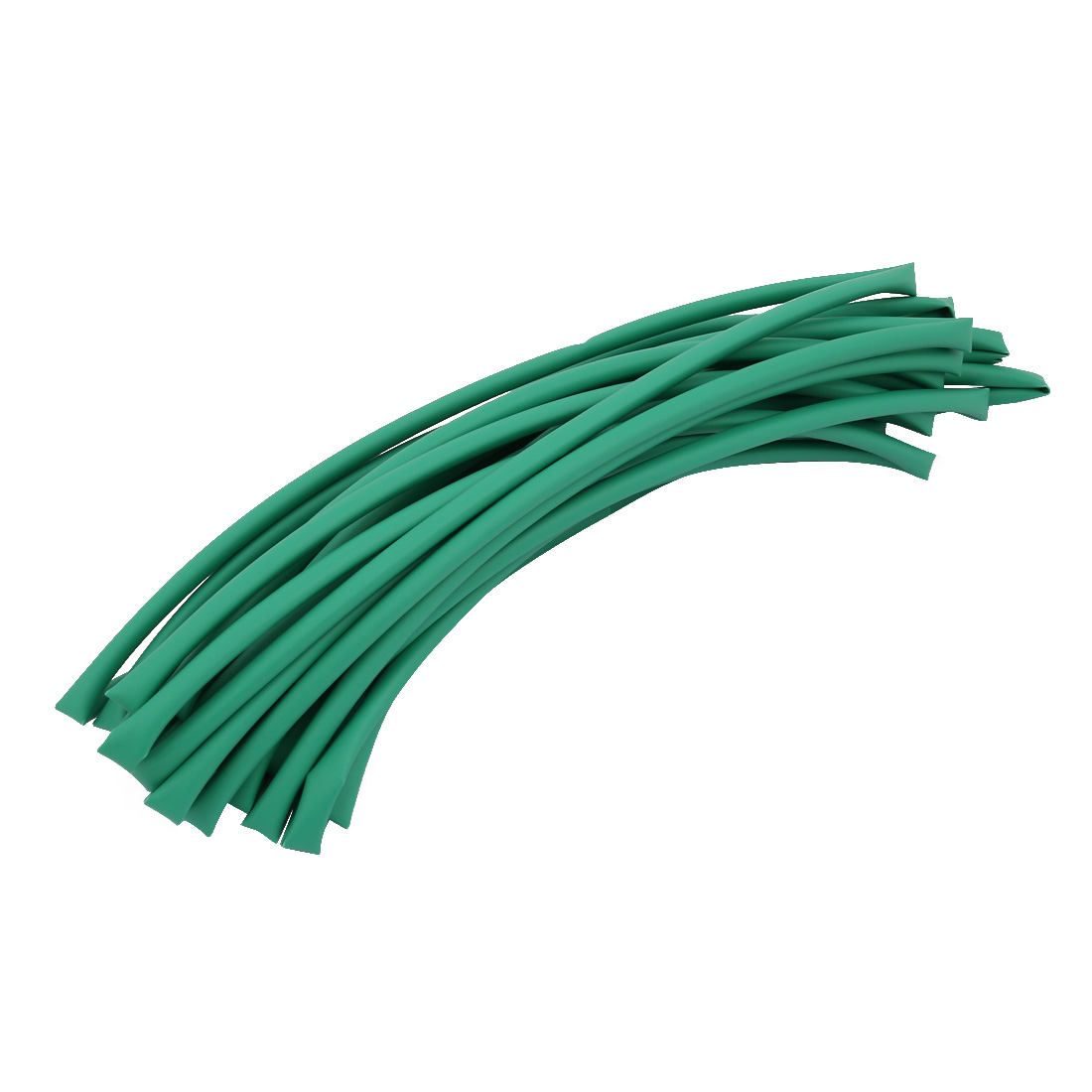 8M 0.2in Inner Dia Polyolefin Flame Retardant Tube Green for Wire Repairing