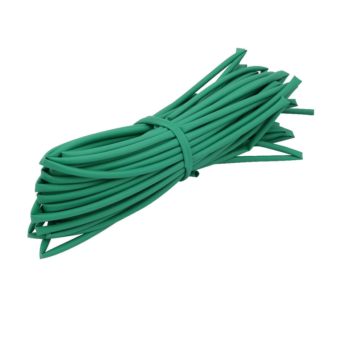 20M 0.2in Inner Dia Polyolefin Flame Retardant Tube Green for Wire Repairing