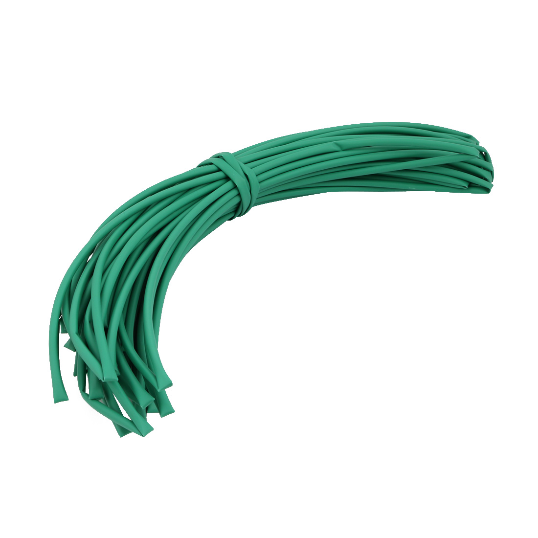 25M 0.2in Inner Dia Polyolefin Flame Retardant Tube Green for Wire Repairing