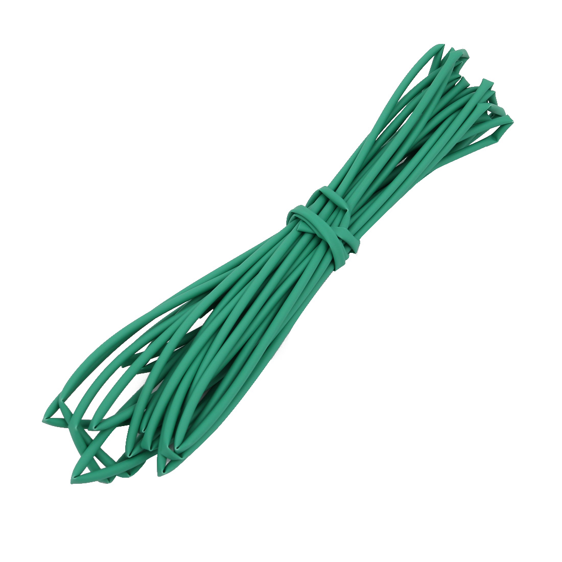 6M 0.08in Inner Dia Polyolefin Flame Retardant Tube Green for Wire Repairing