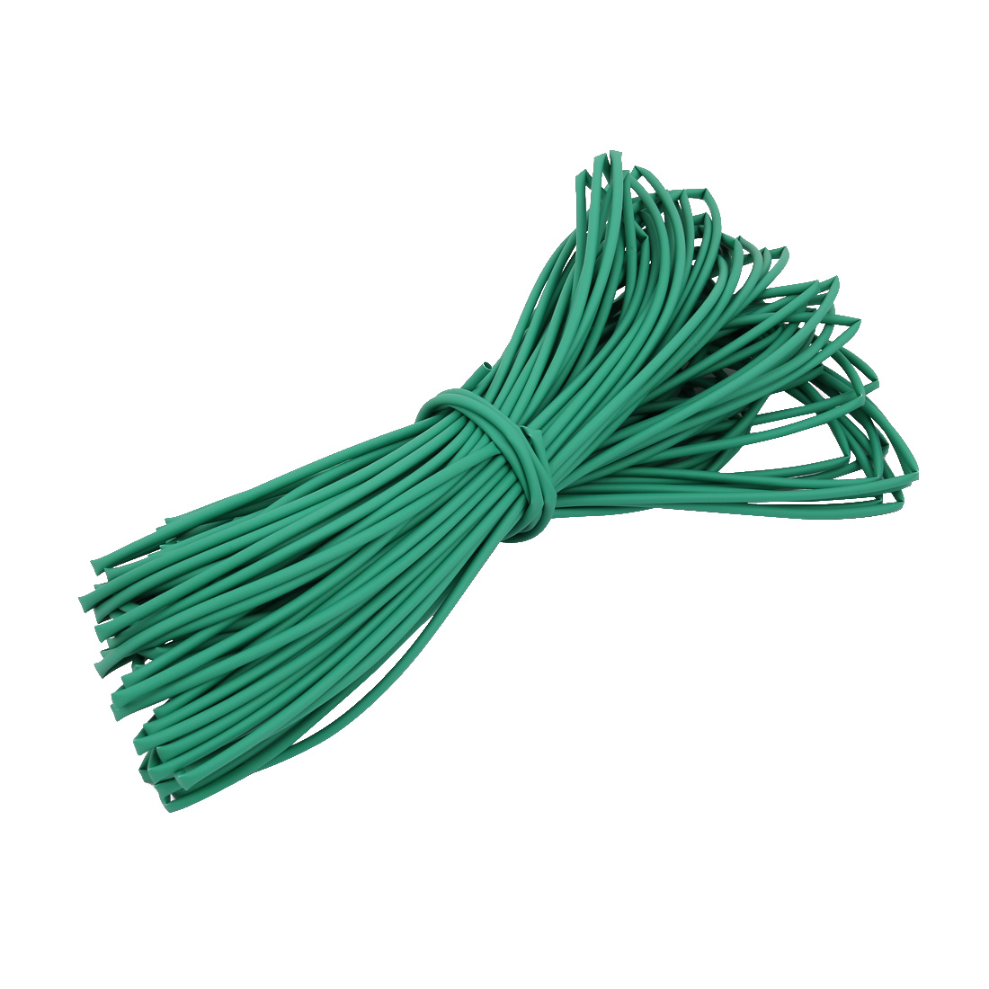 30M 0.08in Inner Dia Polyolefin Flame Retardant Tube Green for Wire Repairing