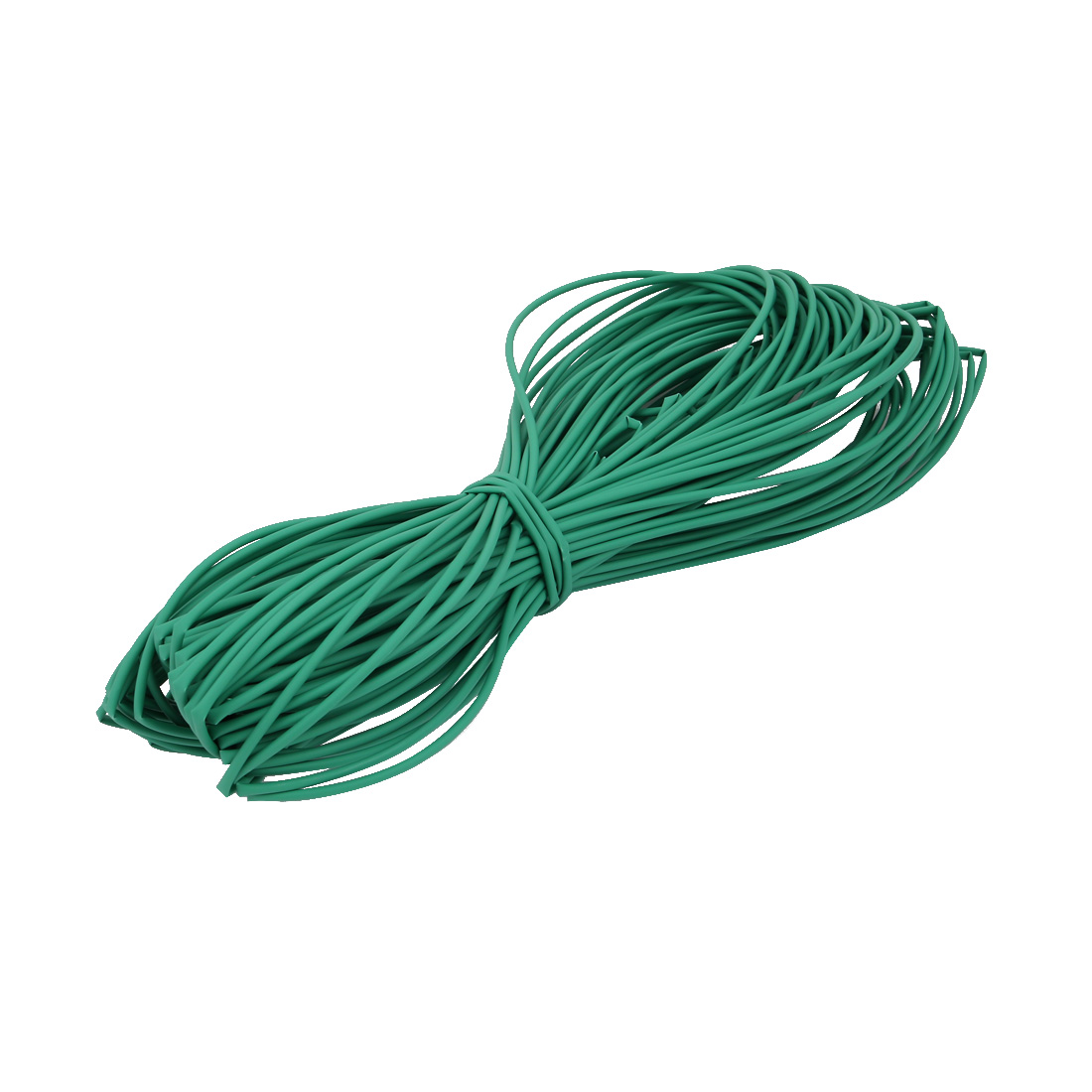 40M 0.08in Inner Dia Polyolefin Flame Retardant Tube Green for Wire Repairing