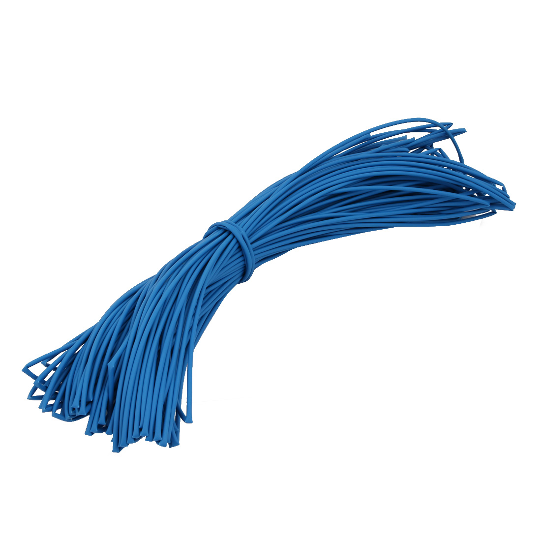 50M 0.08in Inner Dia Polyolefin Flame Retardant Tube Blue for Wire Repairing