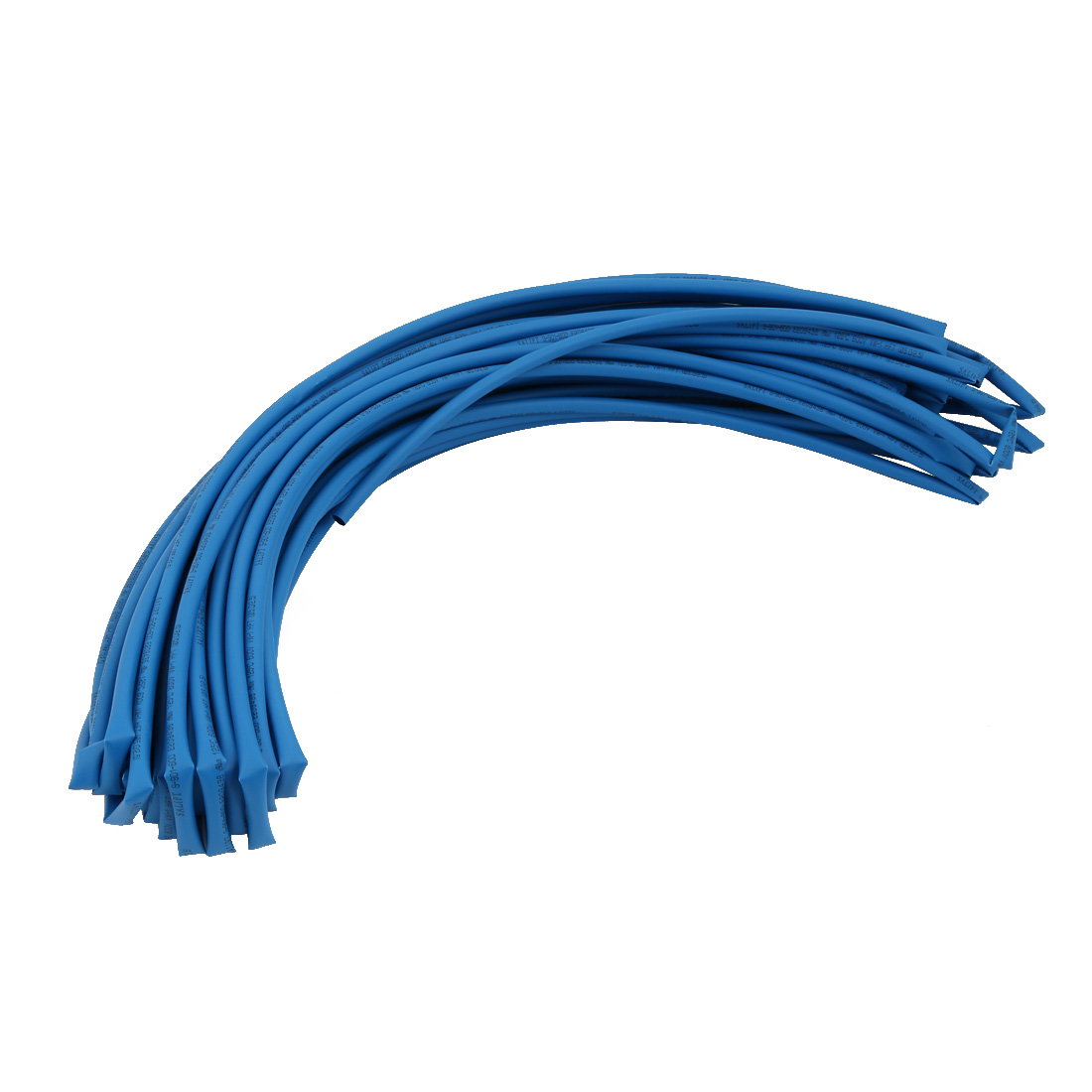 20M 0.2in Inner Dia Polyolefin Flame Retardant Tube Blue for Wire Repairing