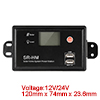12V/24V 20A PWM Solar Charge Controller Battery Regulator LCD Intelligent Panel