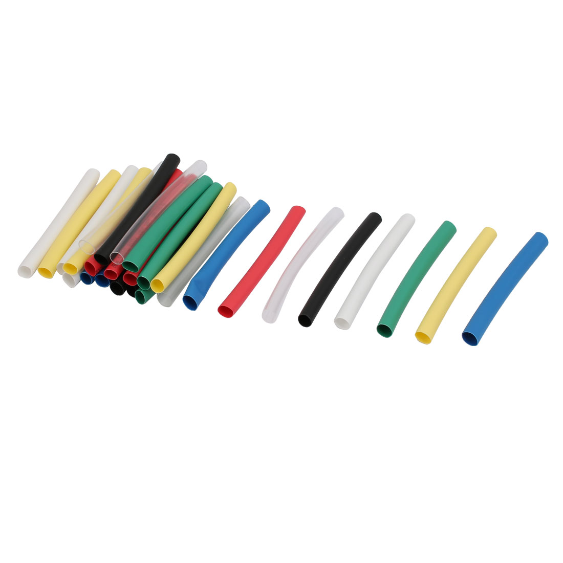 5mmx65mm Multi-Colors Insulated Heat Shrink Tube Sleeving Wrap Wire Kits 28pcs