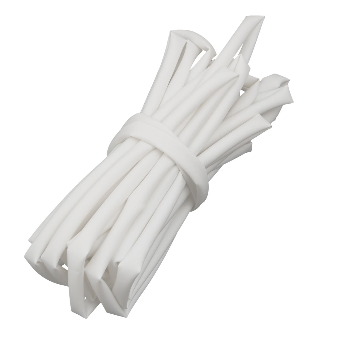 16.4Ft Length 4mm Inner Dia Insulated Heat Shrink Tube Sleeve Wire Wrap White