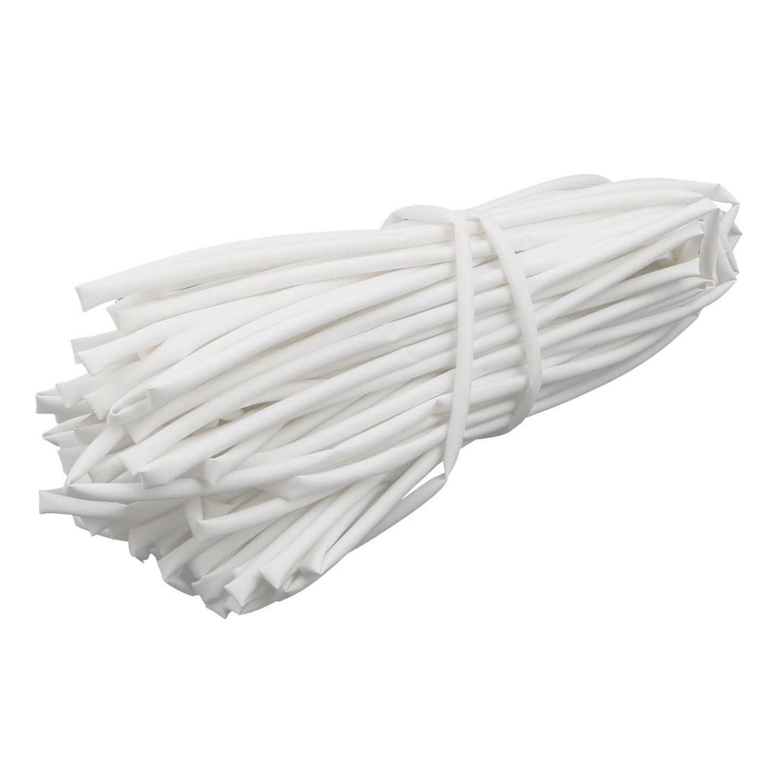 30M Length 4mm Inner Dia Polyolefin Insulated Heat Shrink Tube Wire Wrap White