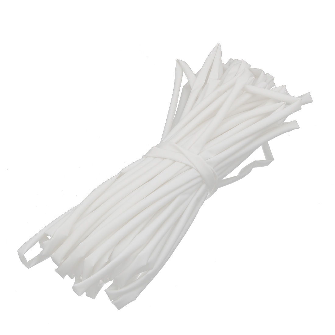 20M Length 5mm Inner Dia Polyolefin Insulated Heat Shrink Tube Wire Wrap White