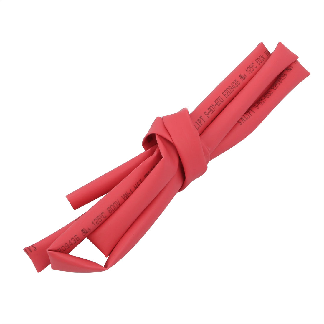 1M Long 5.5mm Inner Dia. Polyolefin Heat Shrinkable Tube Red for Wire Repairing