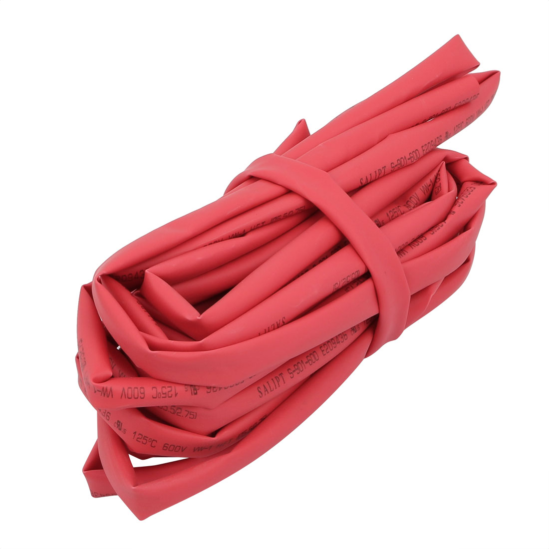 2M Long 5.5mm Inner Dia. Polyolefin Heat Shrinkable Tube Red for Wire Repairing