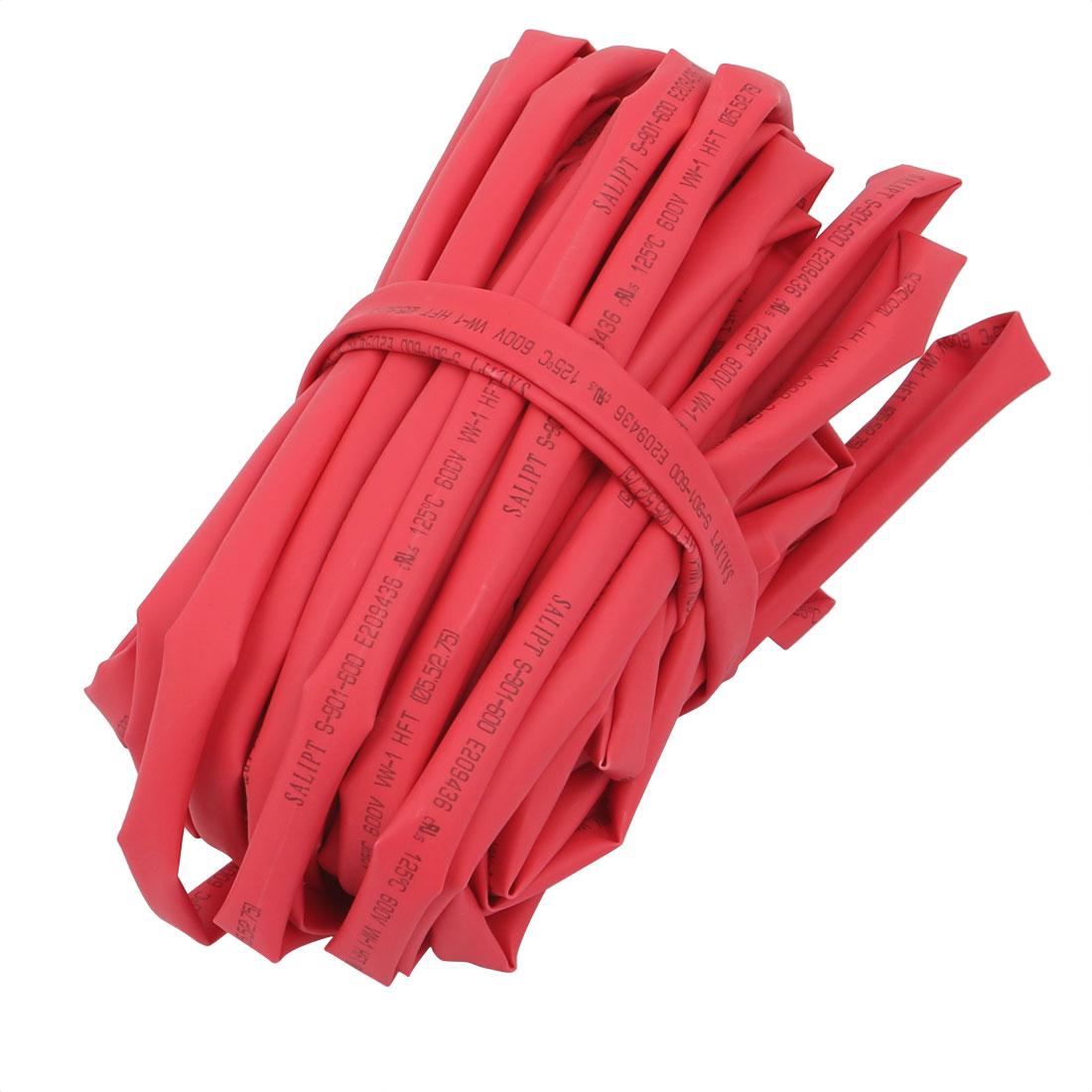 32.8Ft Length 5.5mm Inner Dia Insulated Heat Shrink Tube Sleeve Wire Wrap Red