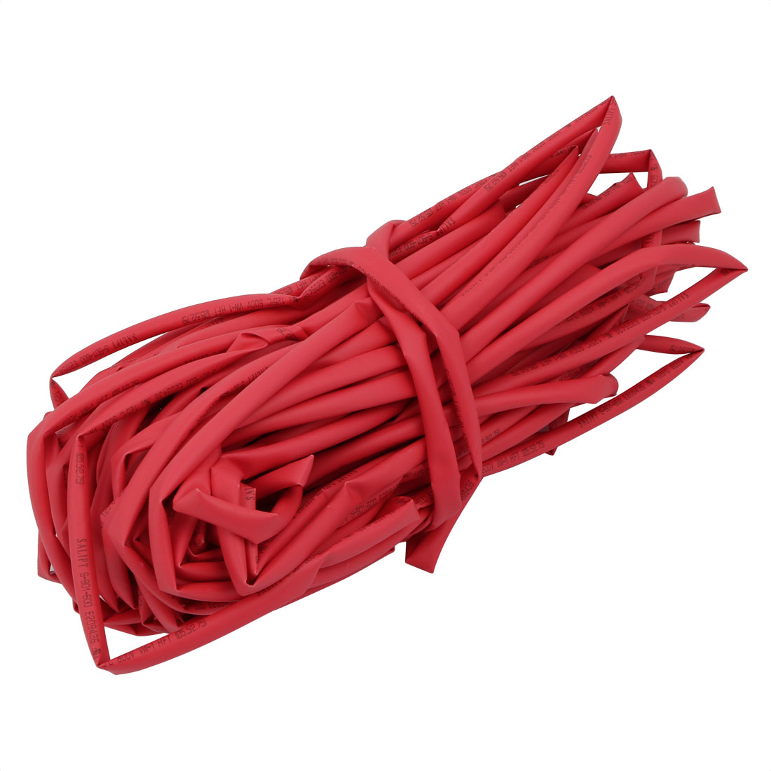 65.6Ft Length 5.5mm Inner Dia Insulated Heat Shrink Tube Sleeve Wire Wrap Red