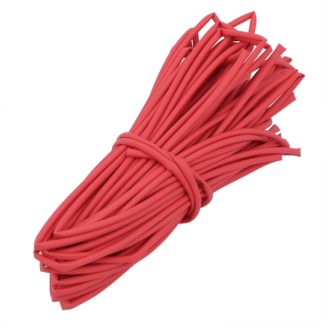 15M Long 1.5mm Inner Dia. Polyolefin Heat Shrinkable Tube Red for Wire Repairing