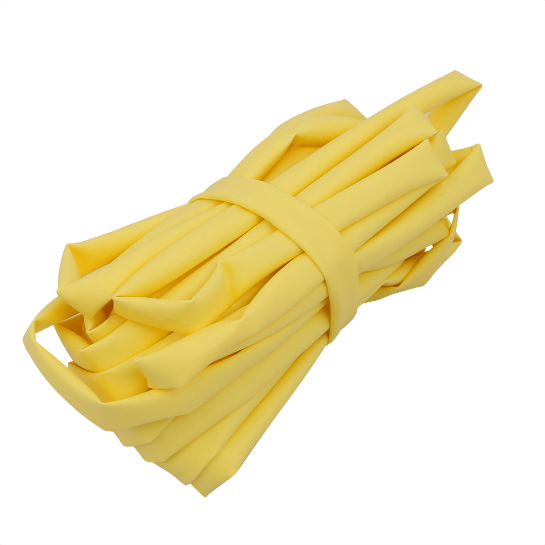 16.4Ft Length 6mm Inner Dia Insulated Heat Shrink Tube Sleeve Wire Wrap Yellow