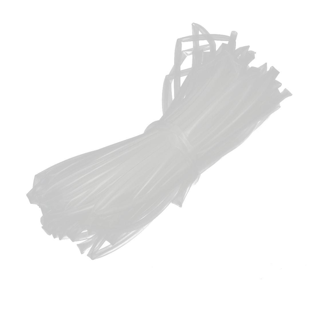Heat Shrinkable Flame Retardant Tube 20M Length 4.5mm Inner Dia Transparent