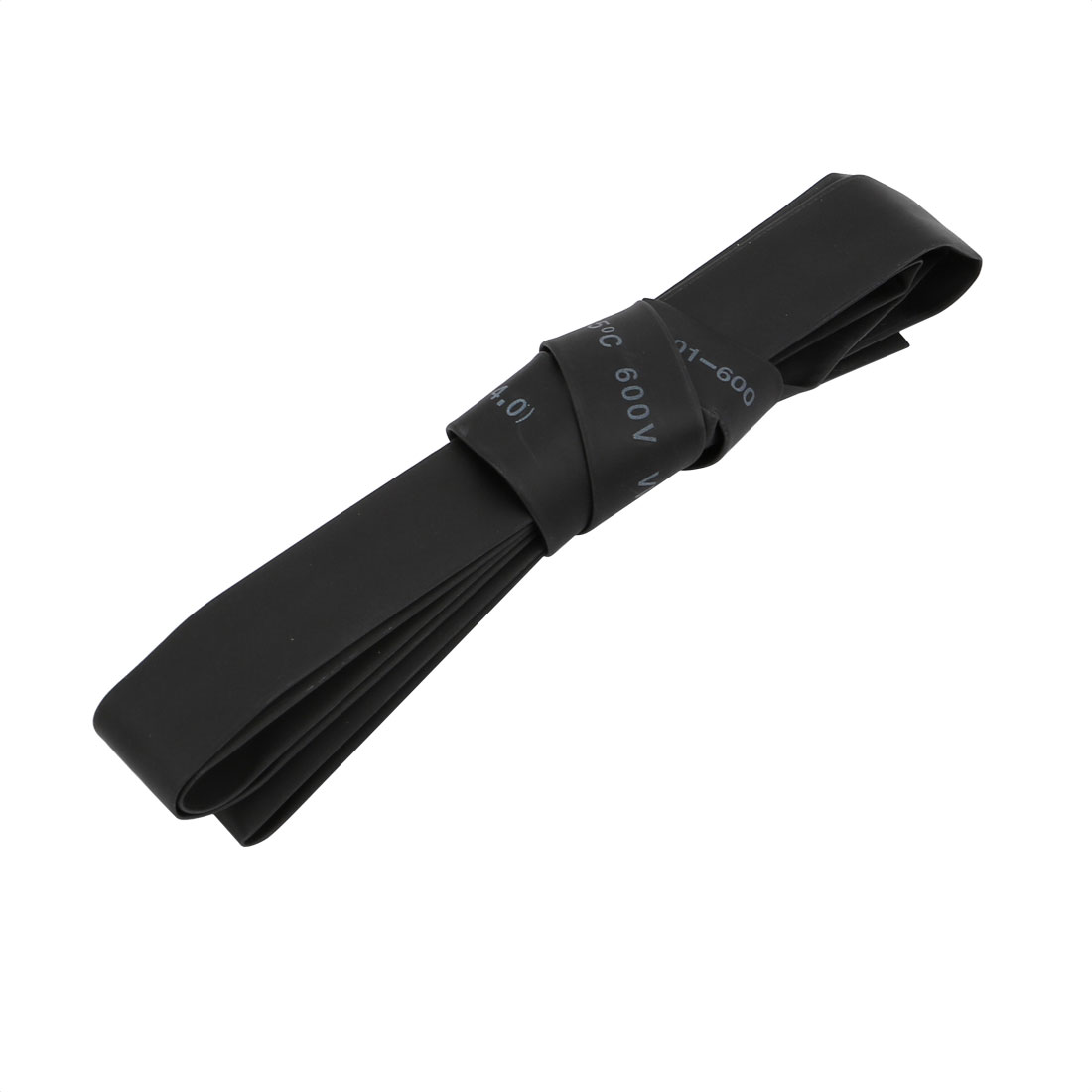 1M x 8mm Inner Dia. Polyolefin Heat Shrinkable Tube Black for Wire Repairing