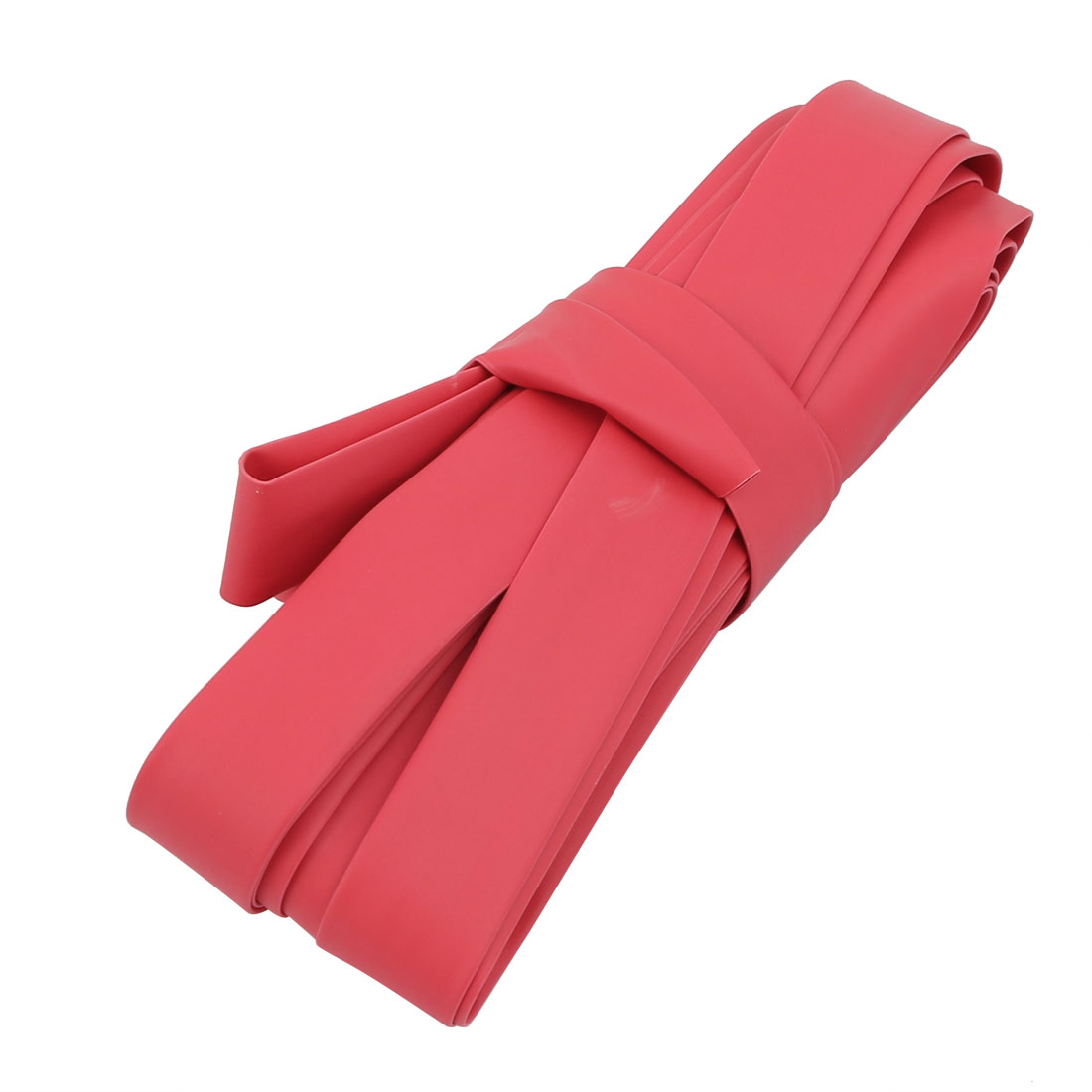 5M Long 10mm Inner Dia. Polyolefin Heat Shrinkable Tube Red for Wire Repairing