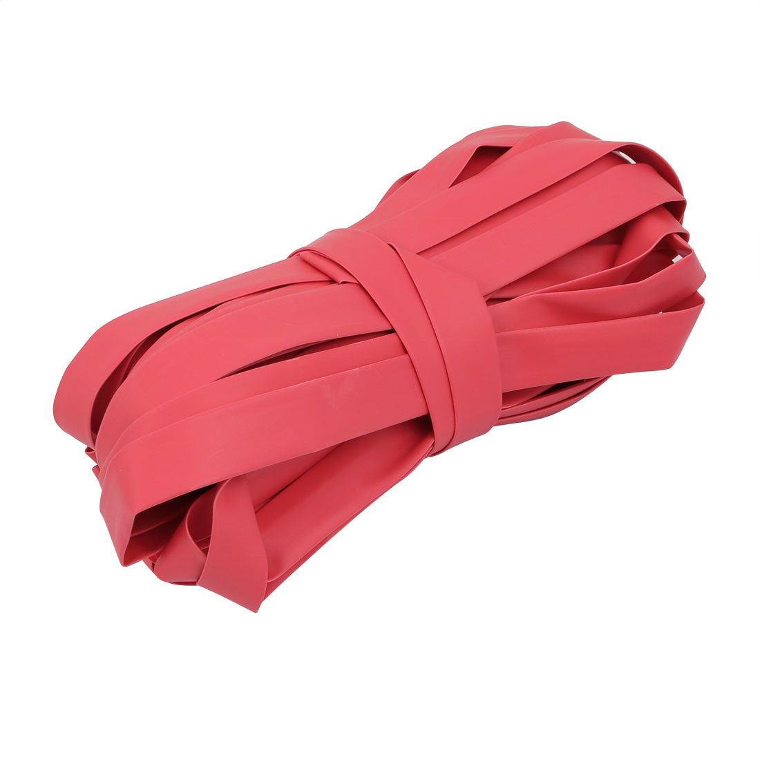 15M Long 10mm Inner Dia. Polyolefin Heat Shrinkable Tube Red for Wire Repairing