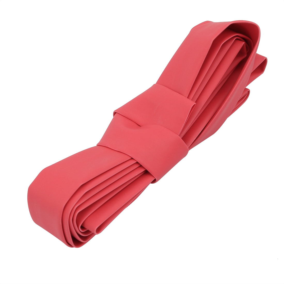 2M Long 12mm Inner Dia. Polyolefin Heat Shrinkable Tube Red for Wire Repairing