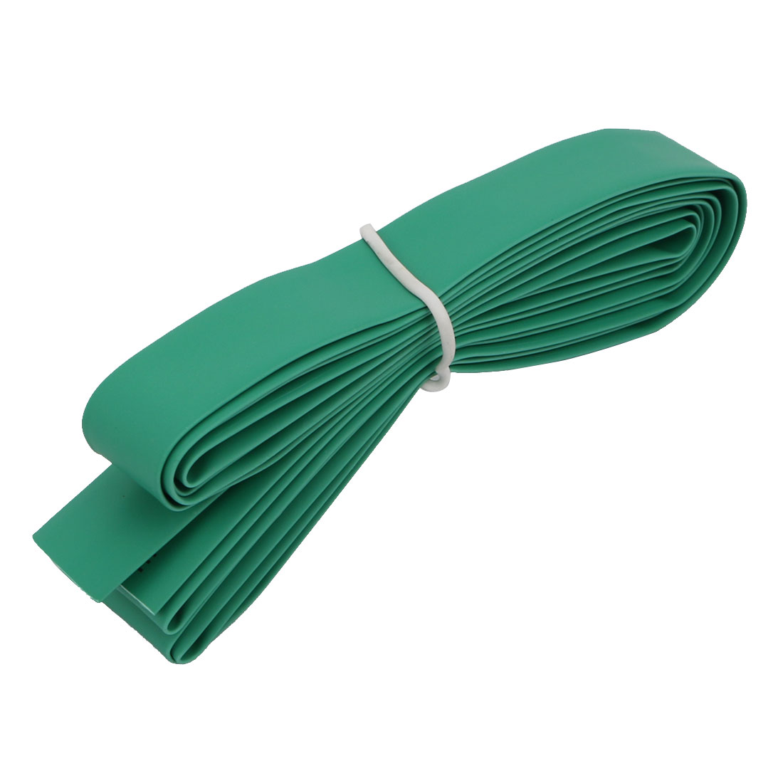 Polyolefin Heat Shrinkable Flame Retardant Tube 2M Length 10mm Inner Dia Green