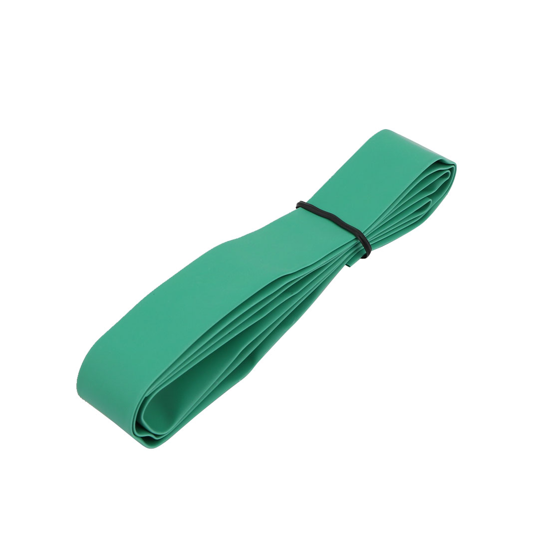 Polyolefin Heat Shrinkable Flame Retardant Tube 1M Length 12mm Inner Dia Green
