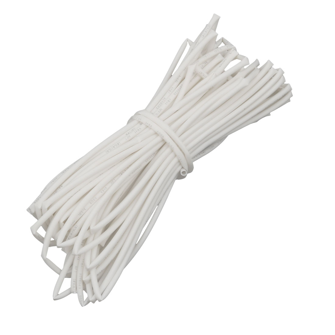 32.8Ft Length 0.8mm Inner Dia Insulated Heat Shrink Tube Sleeve Wire Wrap White