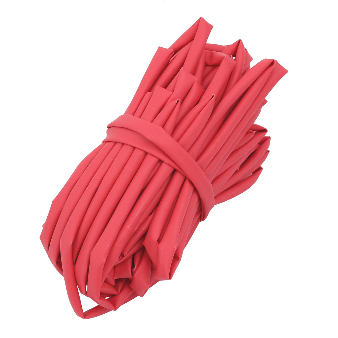 10M 4.5mm Inner Dia Polyolefin Flame Retardant Tube Red for Wire Repairing