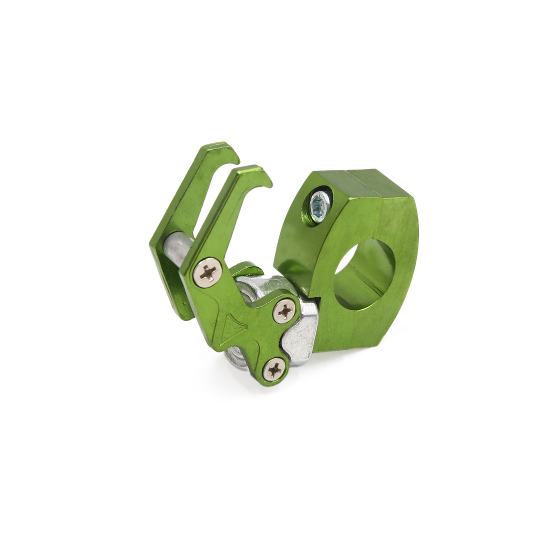 Green Eagle Claw Design Handlebar Mounting Luggage Hook for Motorcycle