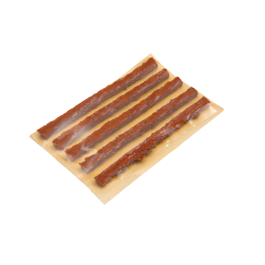 5pcs Brown Tubeless Tyre Repair Seal Strip Puncture Recovery for Car Truck