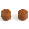 Indigo7 Authorized Nintendo Switch Thumbstick Grip Caps - Large (Brown)