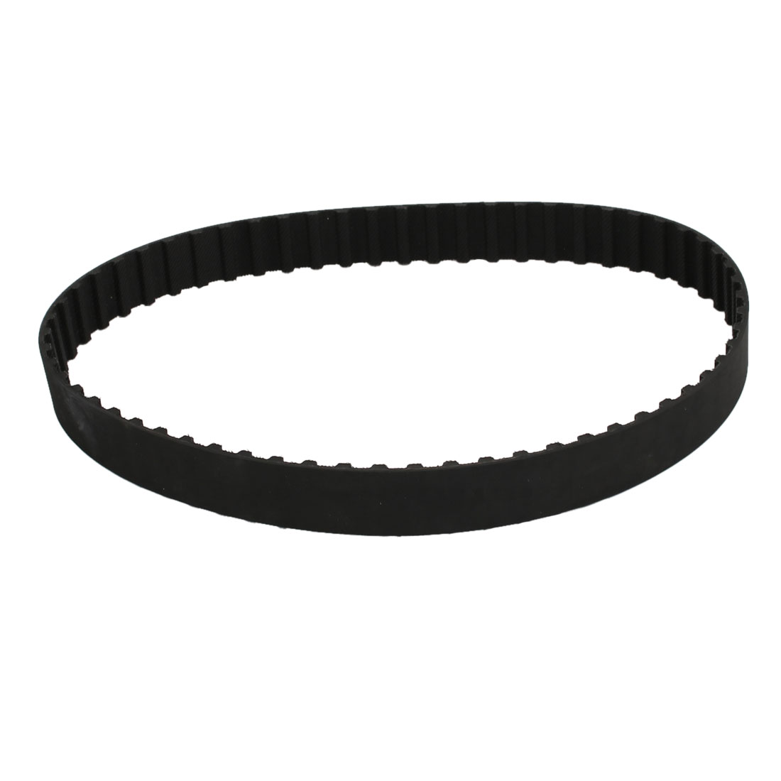 230L 61 Teeth 20mm Width 9.525mm Pitch Stepper Motor Rubber Timing Belt Black