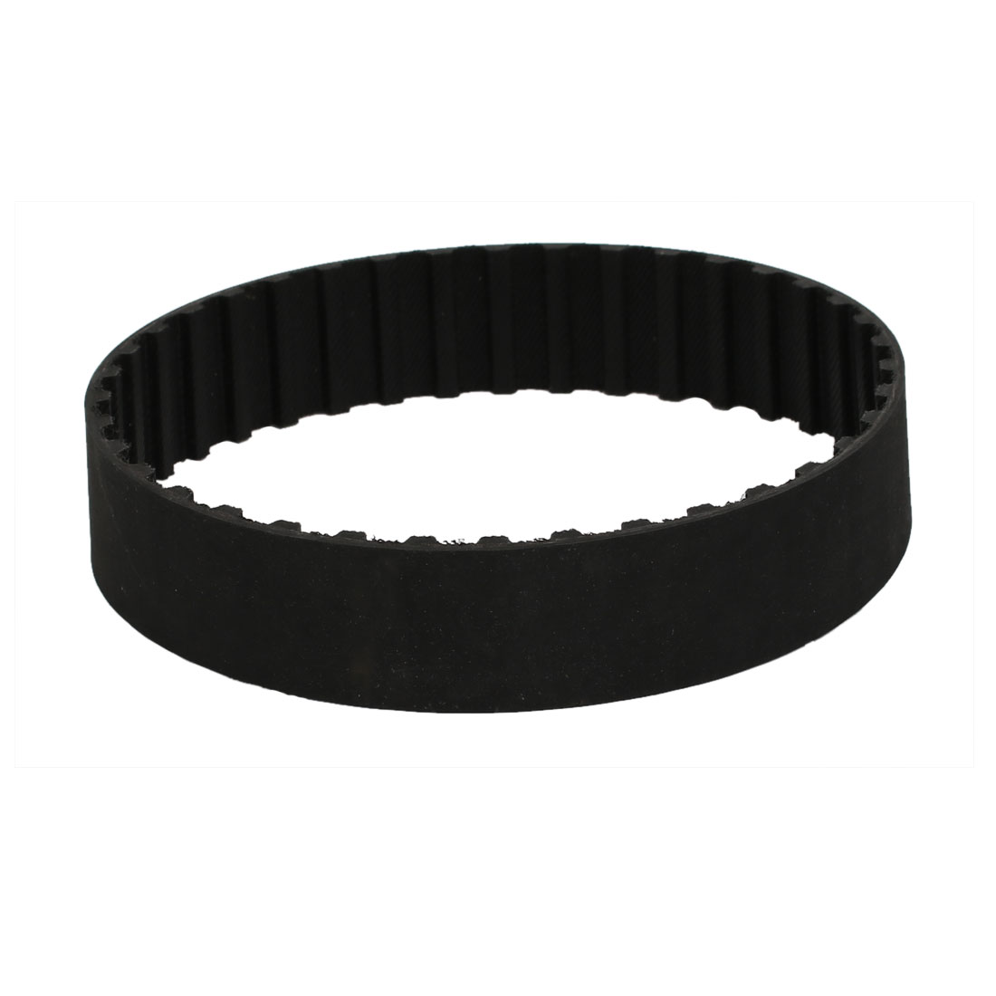 143L 38 Teeth 25mm Width Stepper Motor Rubber Synchronous Timing Belt Black