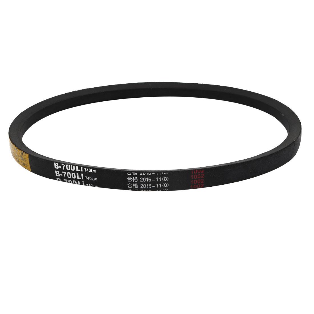 B700 17mm Width 11mm Thickness Rubber High Strength Transmission Drive V-Belt