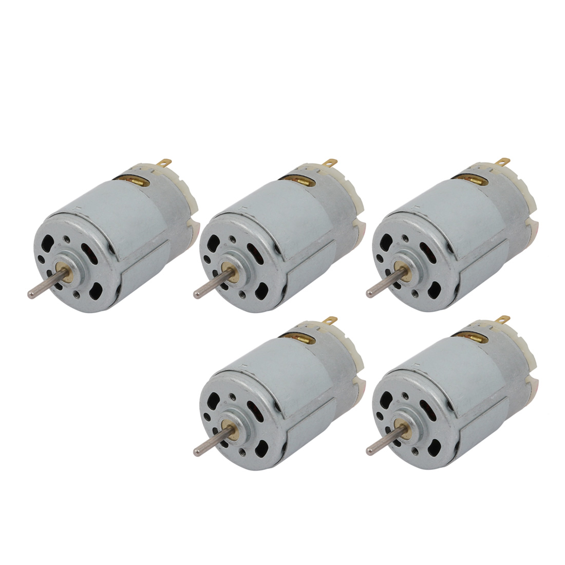 5Pcs DC24V 25000RPM Cylinder Magnetic Electric Micro DC Motor R380 for RC Plane