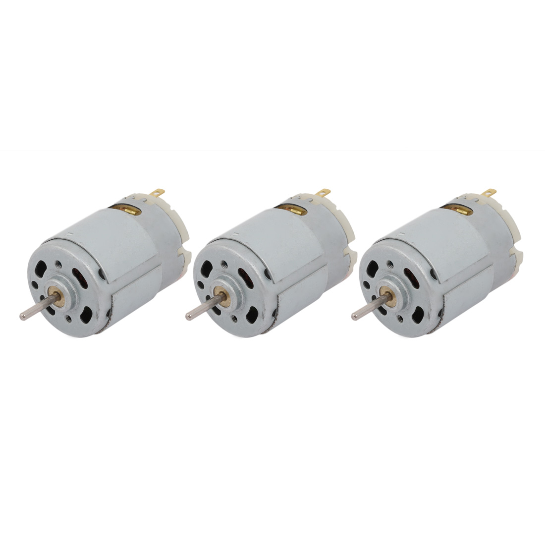 3pcs DC36V 36000RPM Cylinder Magnetic Electric Micro DC Motor R380 for RC Model