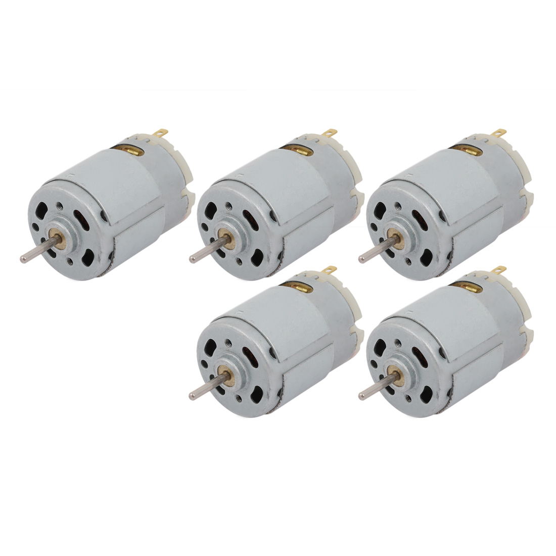 5pcs DC36V 36000RPM Cylinder Magnetic Electric Micro DC Motor R380 for RC Plane