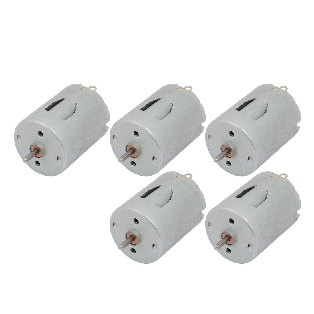 5Pcs DC6V 12000RPM 2mm Dia Shaft High Speed Micro DC Motor for RC Model Toy