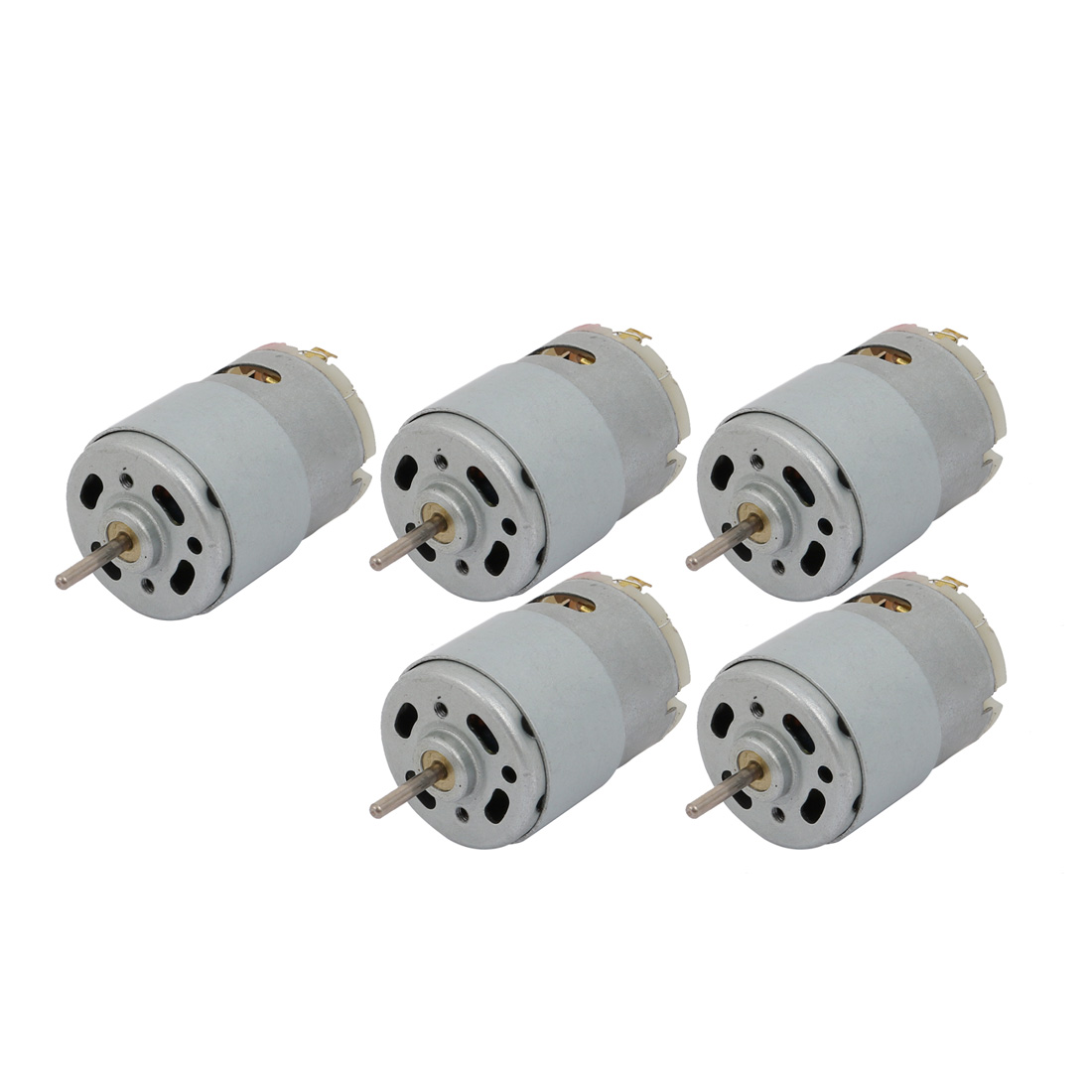 5Pcs DC12V 6500RPM 2.3mm Dia Shaft Brushed DC Electric Motor for RC Model Toy