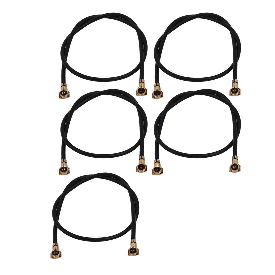 5Pcs Pigtail Antenna Cable IPEX to IPEX Connector Extension Cable 10cm Long