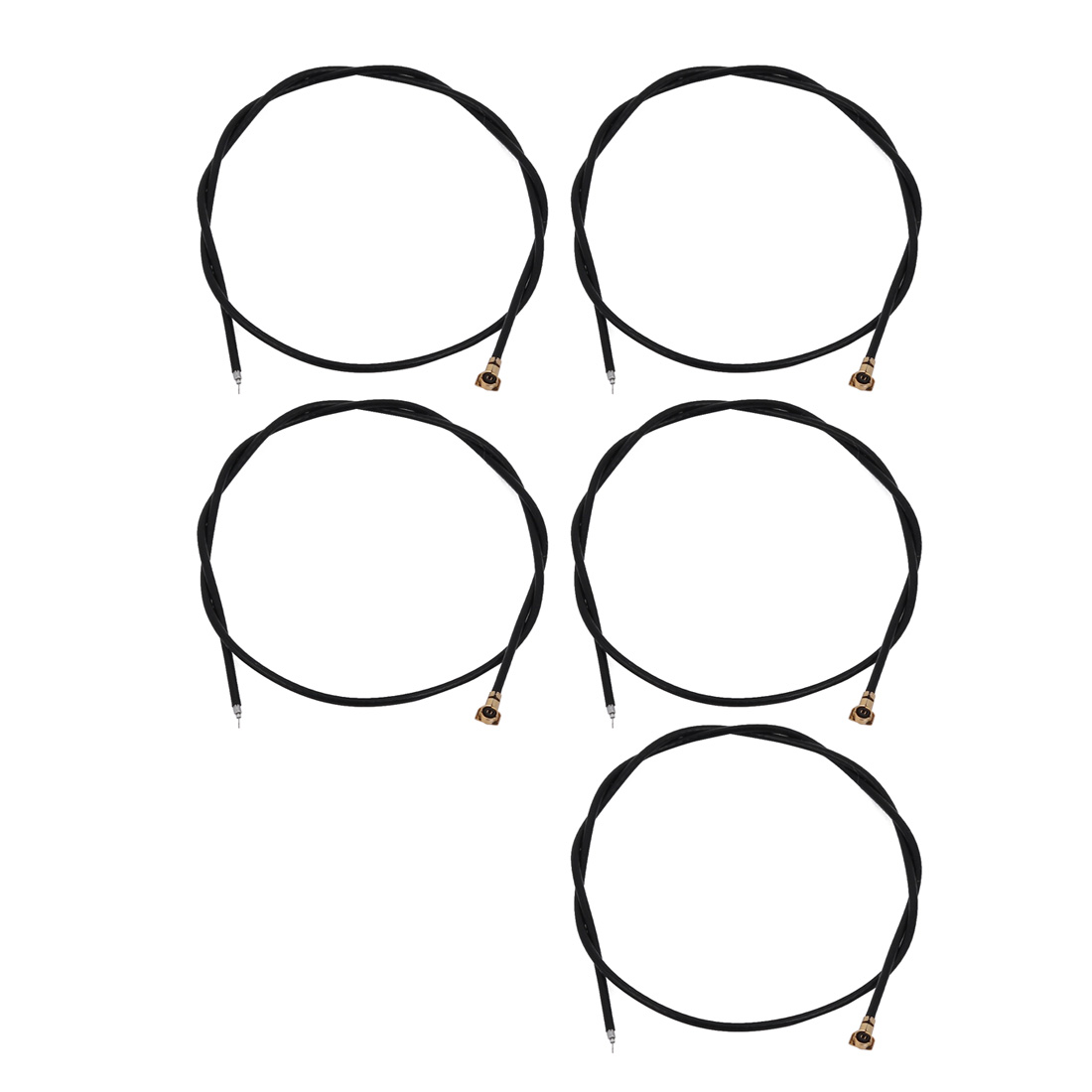 5Pcs Pigtail Antenna RF0.81 IPEX 4.0 Connector Extension Solder Cable 20cm Long