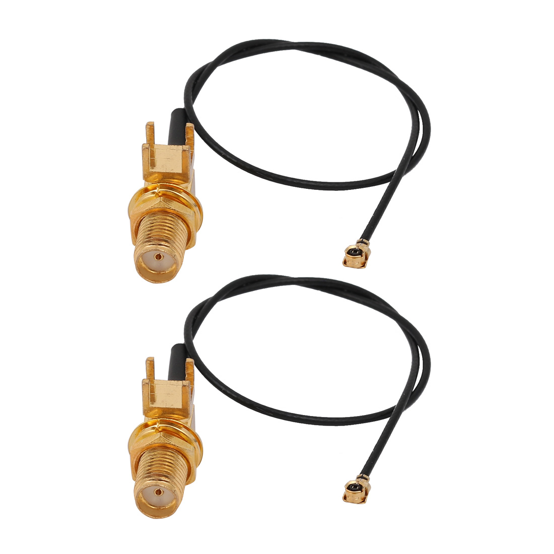 2 Pcs RF1.13 IPEX1 to SMA-KE Connector WiFi Pigtail Cable Antenna 20cm Long