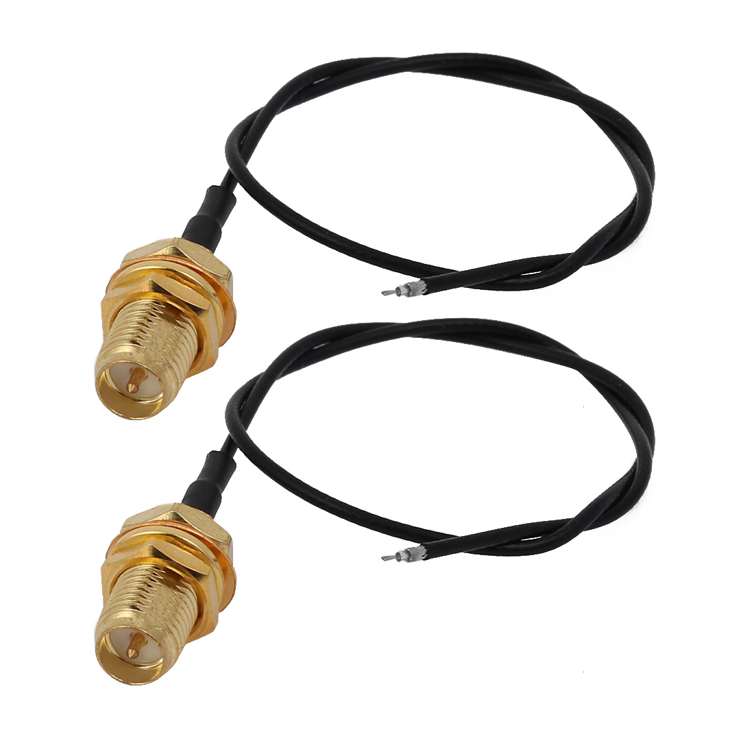 2pcs RF1.13 Soldering Wire SMA Male Connector Antenna WiFi Pigtail Cable 20cm Long
