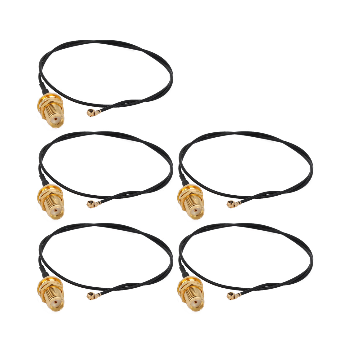 5pcs RF1.13 IPEX 1.0 to SMA Female Connector Antenna WiFi Pigtail Cable 30cm