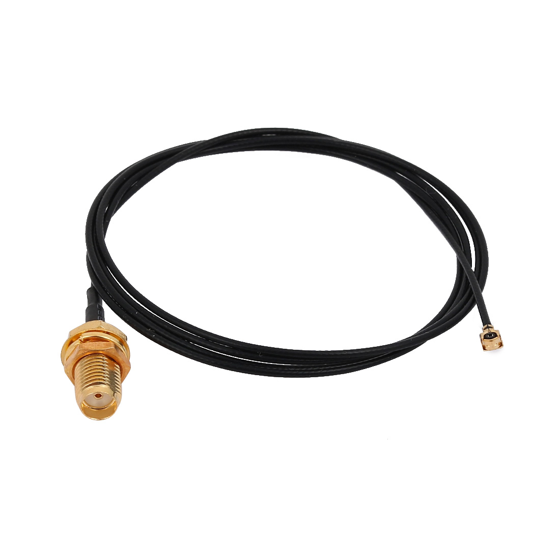 RF1.13 IPEX 1.0 to SMA Female Connector Antenna WiFi Pigtail Cable 80cm Length