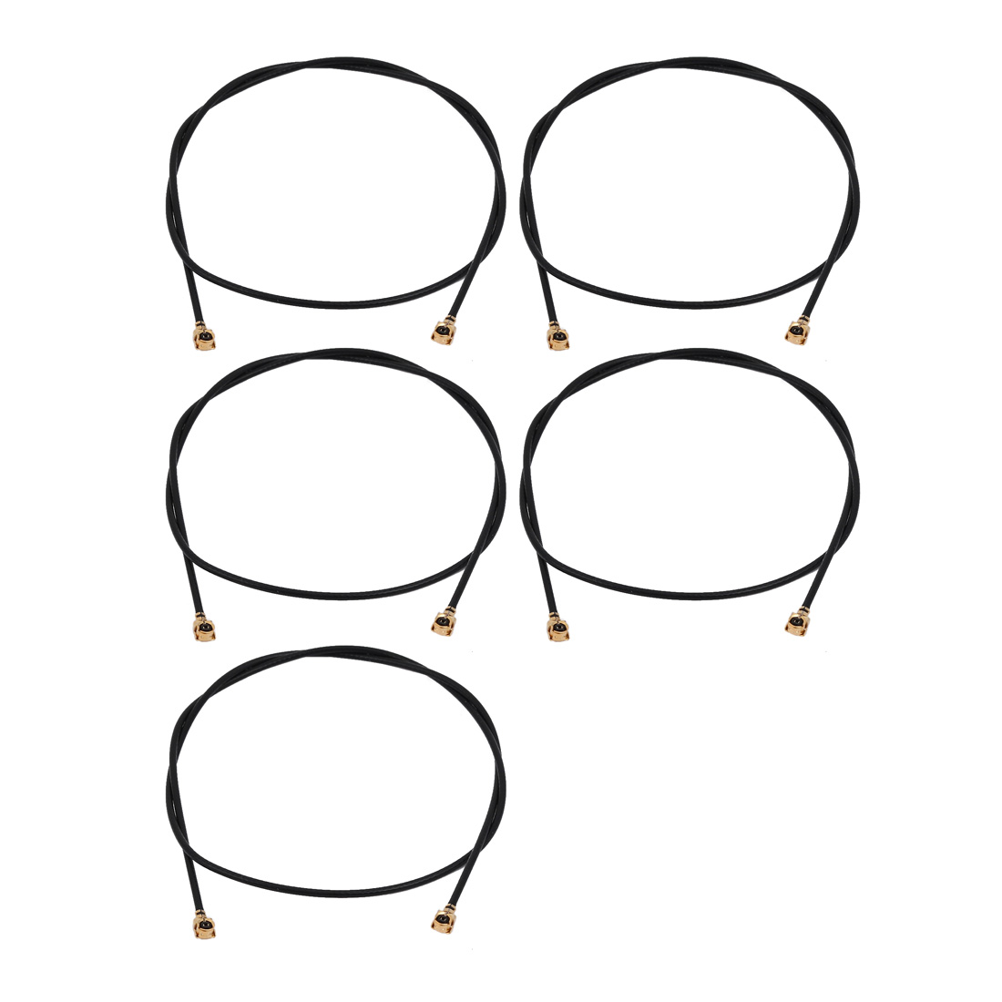 5pcs RF1.13 IPEX 1.0 to IPEX 1.0 Antenna WiFi Pigtail Cable 30cm Long for Router