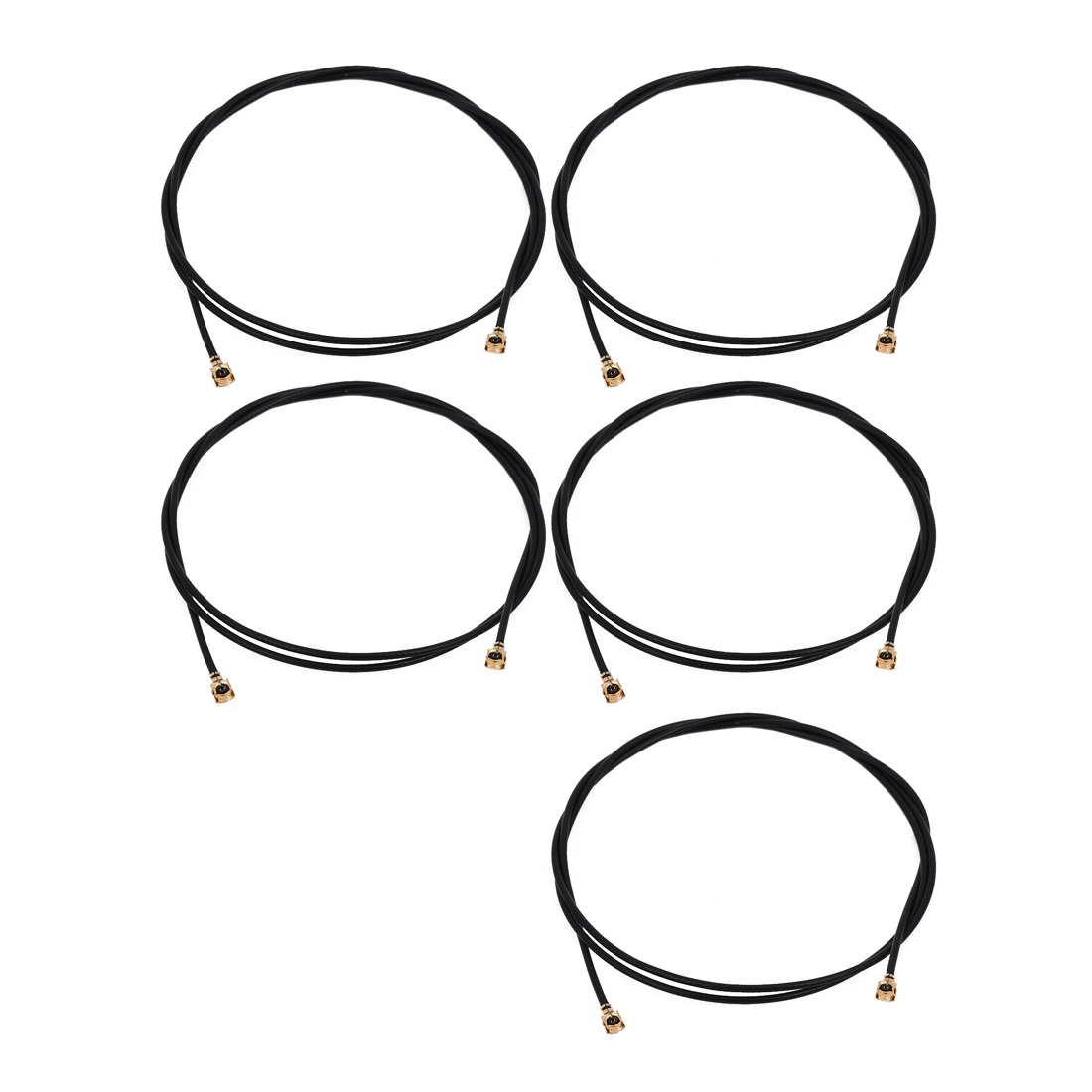 5pcs RF1.13 IPEX 1.0 to IPEX 1.0 Antenna WiFi Pigtail Cable 50cm Long for Router