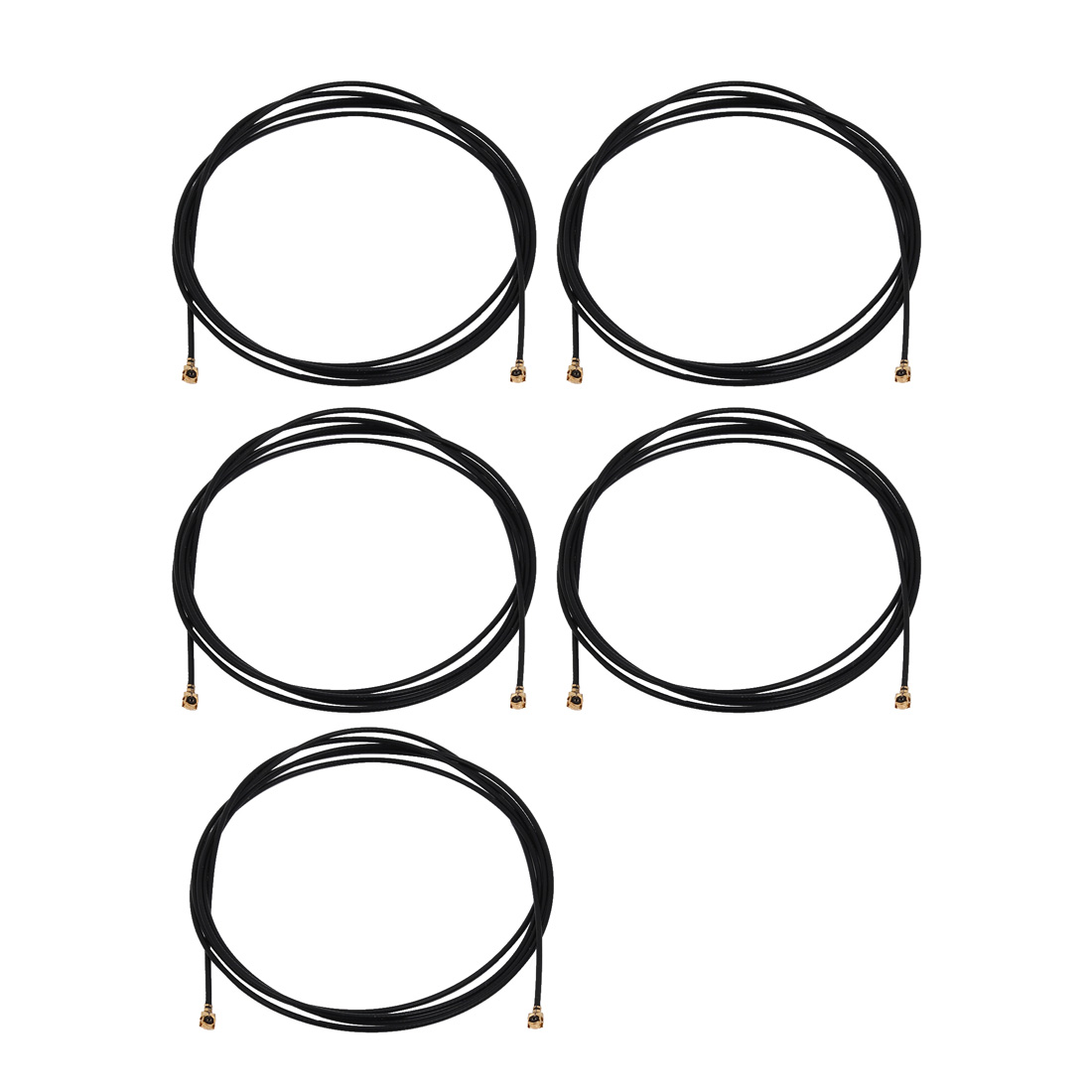 5pcs RF1.13 IPEX 1.0 to IPEX 1.0 Antenna WiFi Pigtail Cable 100cm for Router