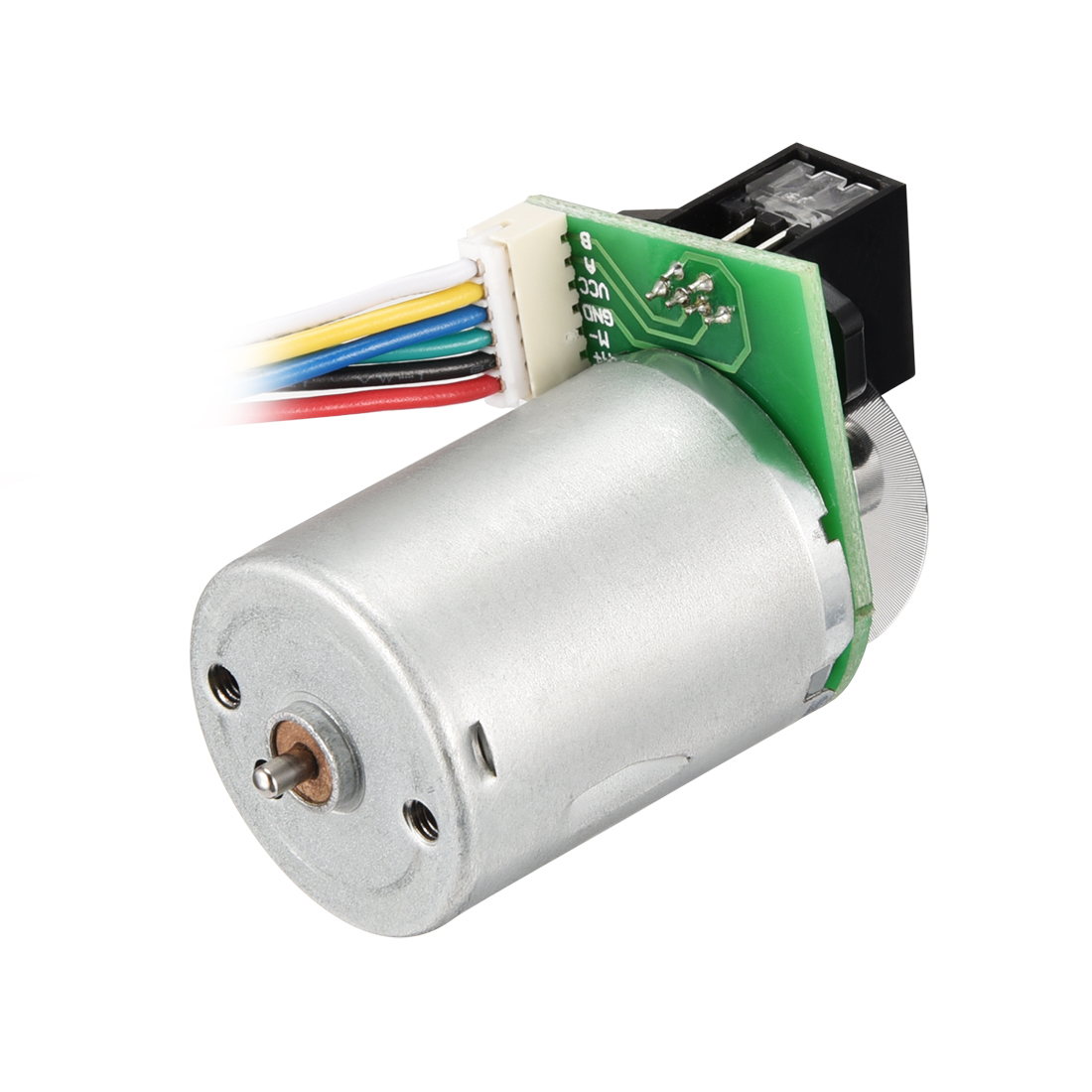 Small Motor DC 12V 4300RPM 6 Wire High Speed Encoder Motor for DIY Toy Cars