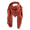 Women Shawl Wrap Scarf Winter Warm Tasseled Fringe Pashmina Soft Warm Red